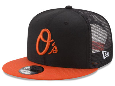 Baltimore Orioles New Era MLB On Field Mesh 9FIFTY Snapback Cap