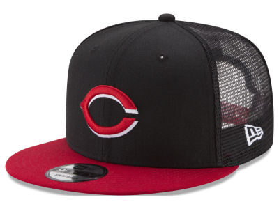 Cincinnati Reds New Era MLB On Field Mesh 9FIFTY Snapback Cap