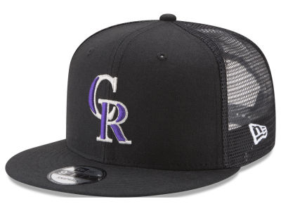 Colorado Rockies New Era MLB On Field Mesh 9FIFTY Snapback Cap