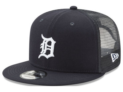 Detroit Tigers New Era MLB On Field Mesh 9FIFTY Snapback Cap