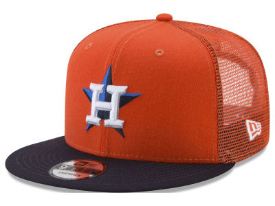 Houston Astros New Era MLB On Field Mesh 9FIFTY Snapback Cap