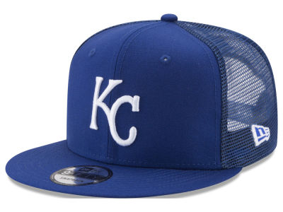 Kansas City Royals New Era MLB On Field Mesh 9FIFTY Snapback Cap