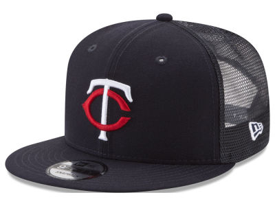 Minnesota Twins New Era MLB On Field Mesh 9FIFTY Snapback Cap