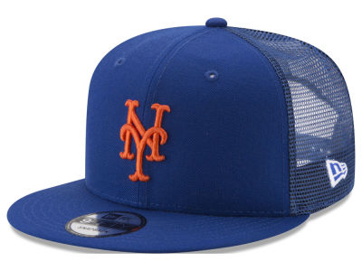 New York Mets New Era MLB On Field Mesh 9FIFTY Snapback Cap