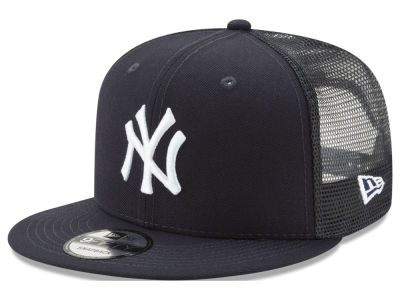 New York Yankees New Era MLB On Field Mesh 9FIFTY Snapback Cap