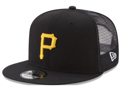 Pittsburgh Pirates New Era MLB On Field Mesh 9FIFTY Snapback Cap