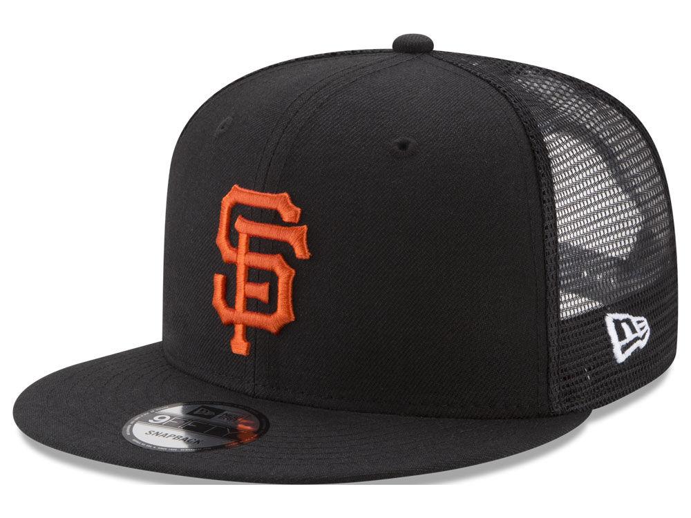 San Francisco Giants New Era MLB On Field Mesh 9FIFTY Snapback Cap ... 8b7a62b13fd