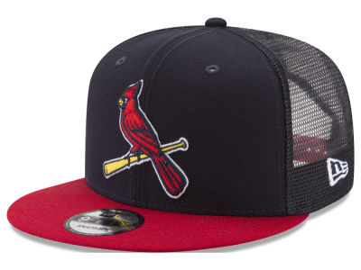 St. Louis Cardinals New Era MLB On Field Mesh 9FIFTY Snapback Cap