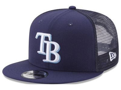 Tampa Bay Rays New Era MLB On Field Mesh 9FIFTY Snapback Cap