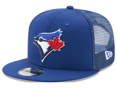 Toronto Blue Jays New Era MLB On Field Mesh 9FIFTY Snapback Cap