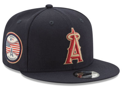 Los Angeles Angels New Era MLB Full Americana Patch 9FIFTY Snapback Cap