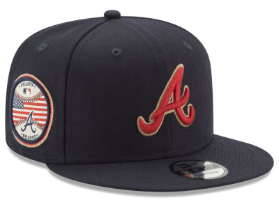 Atlanta Braves New Era MLB Full Americana Patch 9FIFTY Snapback Cap