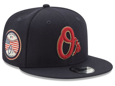 Baltimore Orioles New Era MLB Full Americana Patch 9FIFTY Snapback Cap