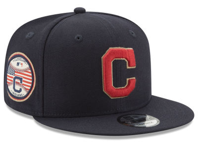 Cleveland Indians New Era MLB Full Americana Patch 9FIFTY Snapback Cap