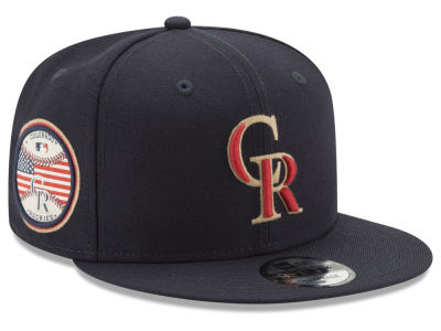 Colorado Rockies New Era MLB Full Americana Patch 9FIFTY Snapback Cap