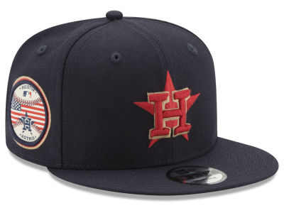Houston Astros New Era MLB Full Americana Patch 9FIFTY Snapback Cap