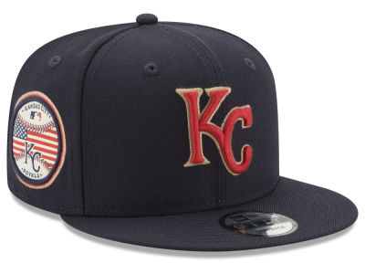 Kansas City Royals New Era MLB Full Americana Patch 9FIFTY Snapback Cap