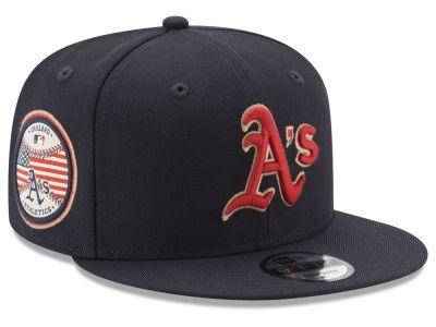 Oakland Athletics New Era MLB Full Americana Patch 9FIFTY Snapback Cap