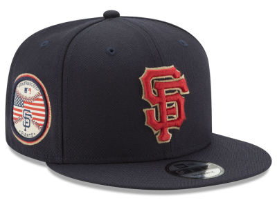 San Francisco Giants New Era MLB Full Americana Patch 9FIFTY Snapback Cap