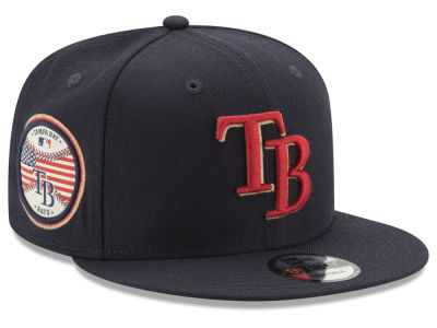Tampa Bay Rays New Era MLB Full Americana Patch 9FIFTY Snapback Cap