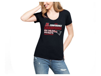 New England Patriots '47 NFL Women's Conference Champ T-Shirt