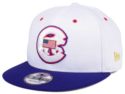 Chicago Cubs New Era MLB Metal America 9FIFTY Snapback Cap