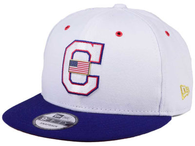 Cleveland Indians New Era MLB Metal America 9FIFTY Snapback Cap