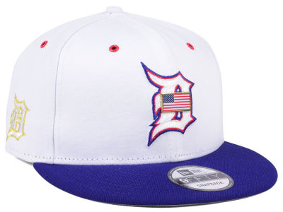 Detroit Tigers New Era MLB Metal America 9FIFTY Snapback Cap