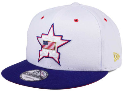Houston Astros New Era MLB Metal America 9FIFTY Snapback Cap