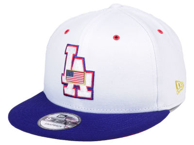 Los Angeles Dodgers New Era MLB Metal America 9FIFTY Snapback Cap