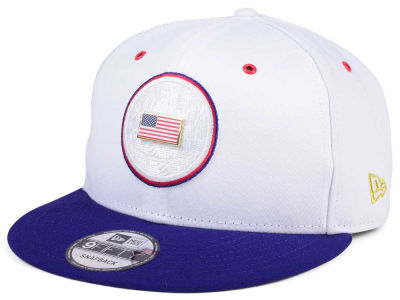 New York Mets New Era MLB Metal America 9FIFTY Snapback Cap