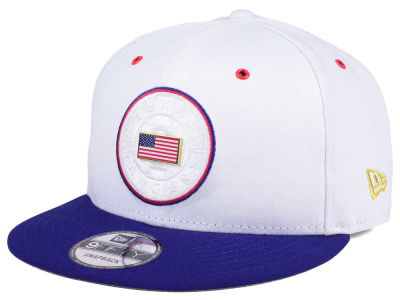 Texas Rangers New Era MLB Metal America 9FIFTY Snapback Cap