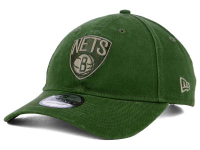 Brooklyn Nets New Era NBA All Olive 9TWENTY Dad Hat