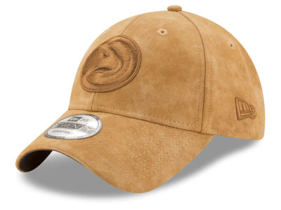 Atlanta Hawks New Era NBA Pure Leather Dad Hat