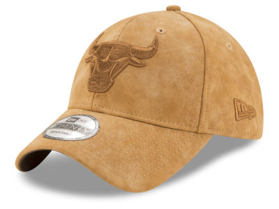 Chicago Bulls New Era NBA Pure Leather Dad Hat
