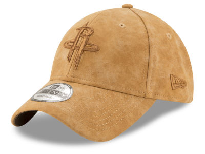 Houston Rockets New Era NBA Pure Leather Dad Hat