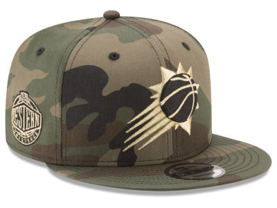 Phoenix Suns New Era NBA Metallic Woodland 9FIFTY Snapback Cap