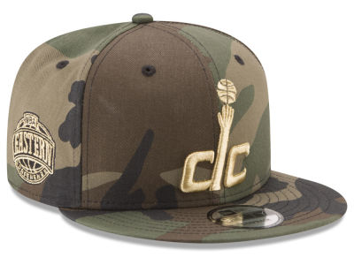Washington Wizards New Era NBA Metallic Woodland 9FIFTY Snapback Cap