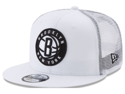 Brooklyn Nets New Era NBA Summer Time Mesh 9FIFTY Snapback Cap