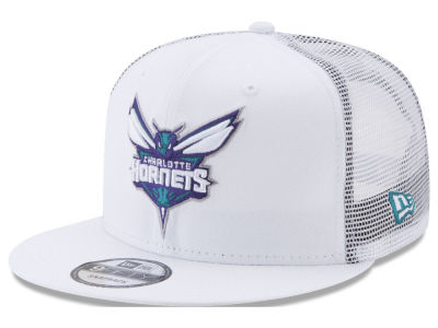 Charlotte Hornets New Era NBA Summer Time Mesh 9FIFTY Snapback Cap