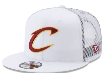 Cleveland Cavaliers New Era NBA Summer Time Mesh 9FIFTY Snapback Cap