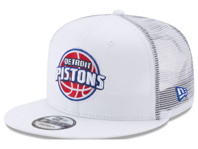 Detroit Pistons New Era NBA Summer Time Mesh 9FIFTY Snapback Cap