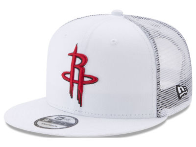 Houston Rockets New Era NBA Summer Time Mesh 9FIFTY Snapback Cap