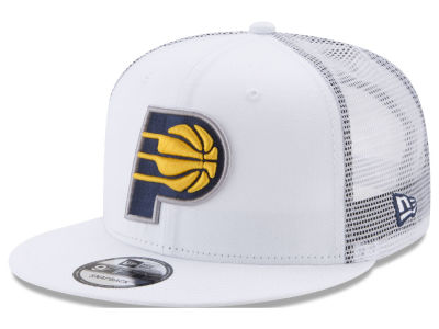 Indiana Pacers New Era NBA Summer Time Mesh 9FIFTY Snapback Cap