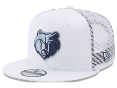 Memphis Grizzlies New Era NBA Summer Time Mesh 9FIFTY Snapback Cap