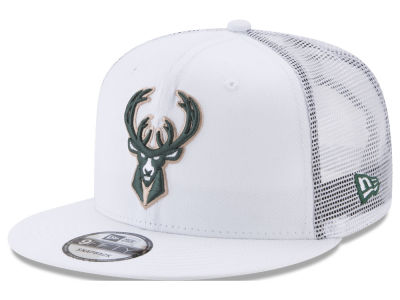 Milwaukee Bucks New Era NBA Summer Time Mesh 9FIFTY Snapback Cap