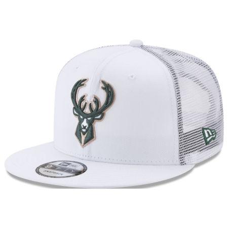 Milwaukee Bucks New Era NBA Summer Time Mesh 9FIFTY Snapback Cap