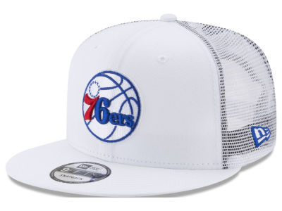 Philadelphia 76ers New Era NBA Summer Time Mesh 9FIFTY Snapback Cap