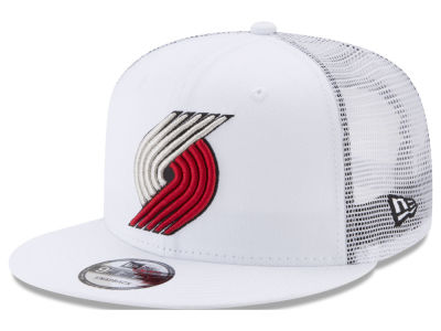 Portland Trail Blazers New Era NBA Summer Time Mesh 9FIFTY Snapback Cap