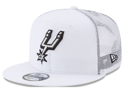 San Antonio Spurs New Era NBA Summer Time Mesh 9FIFTY Snapback Cap
